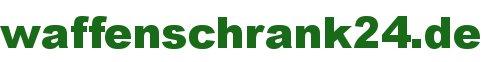 Waffenschränke in allen Sicherheitsstufen - waffenschrank24.de-Logo